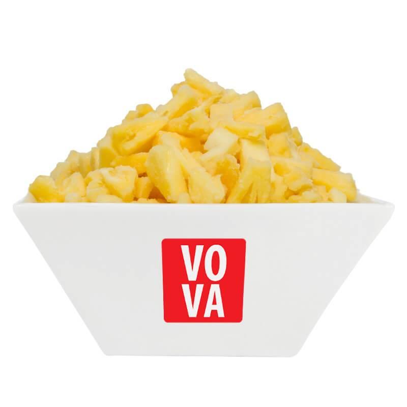 Ананас замороженный кубик VOVA фото