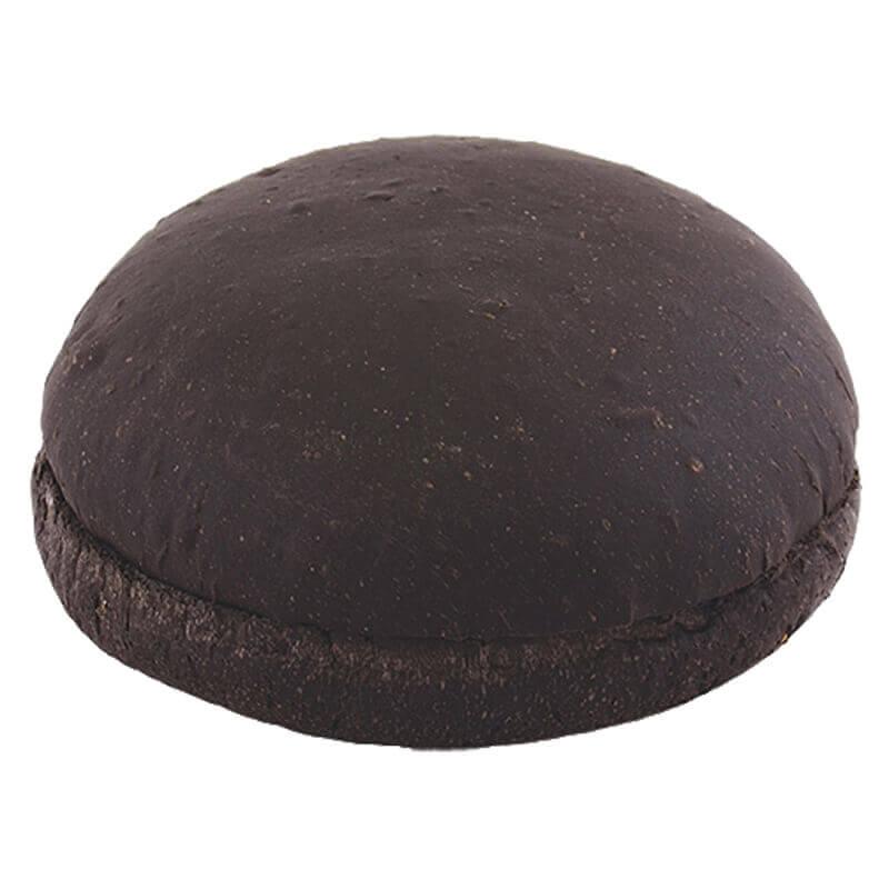 булочка для гамбургера черная без кунжута
