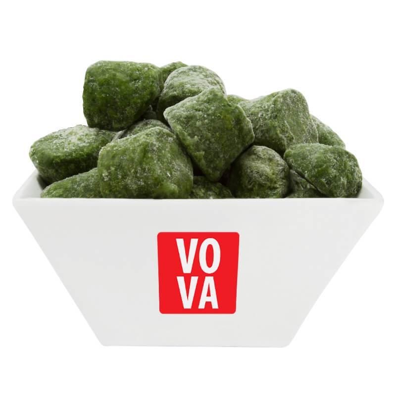 Шпинат замороженный листовой VOVA фото