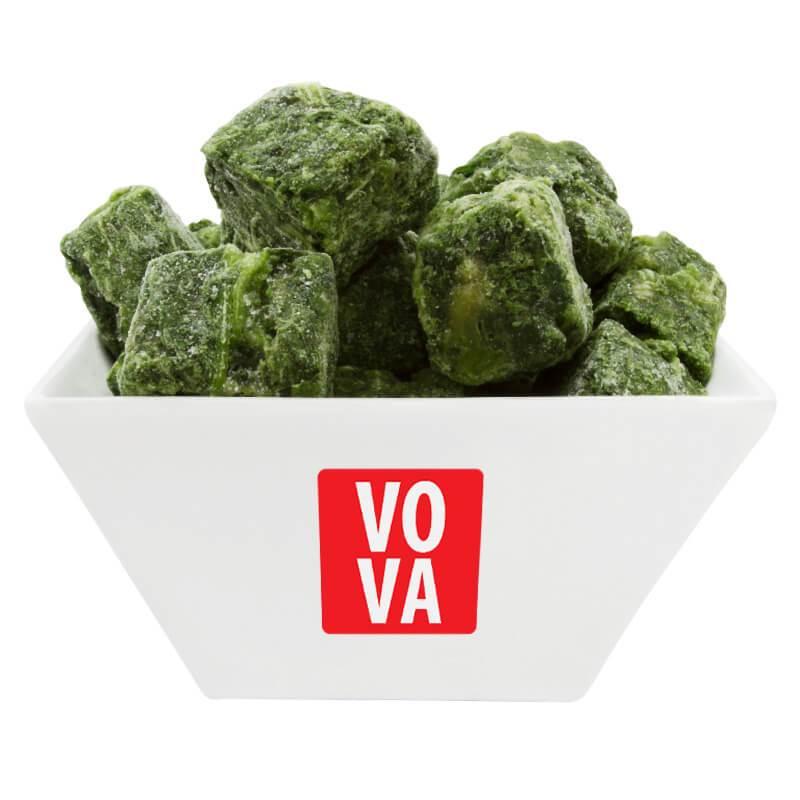 Шпинат замороженный резаный VOVA фото
