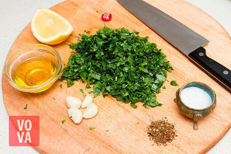 ингредиенты для сальса верде фото