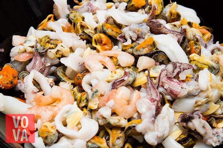 Промывка морского коктейля картинка