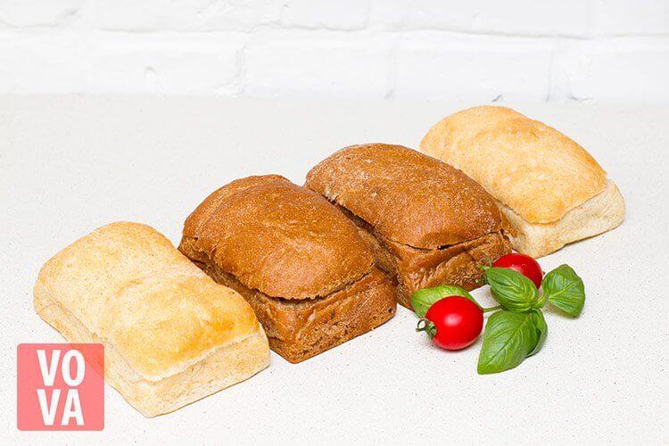 Пшеничный и ржаной хлеб
