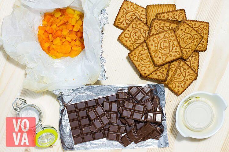 ингредиенты для конфет из тыквы