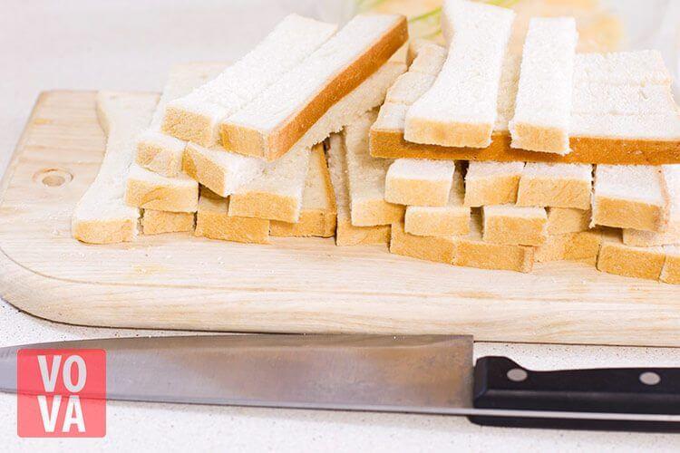 палочки из хлеба