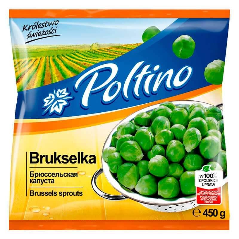 брюссельская капуста 450г тм poltino