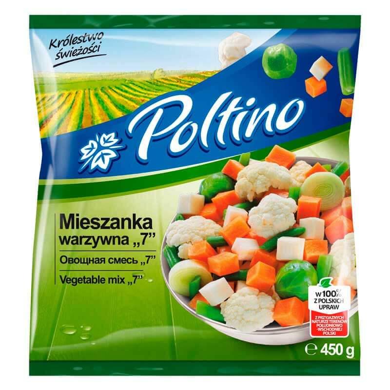овощная смесь 7 450г тм poltino