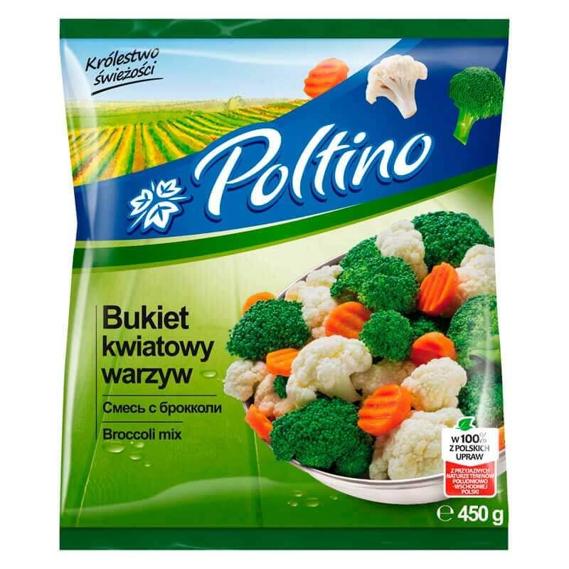 смесь с броколи 450г тм poltino