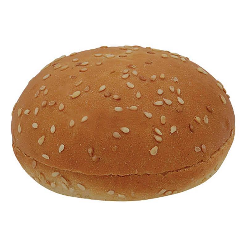 булочка для гамбургера пшеничная с кунжутом 30г