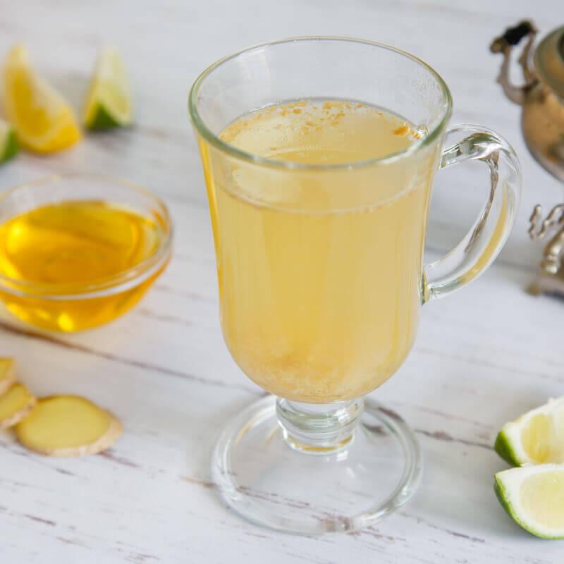 концентрат напитка имбирь, лайм и мед