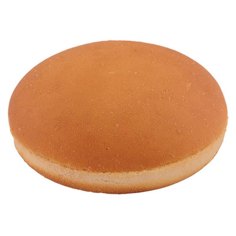 булочка для гамбургера пшеничная без кунжута 50г 10см