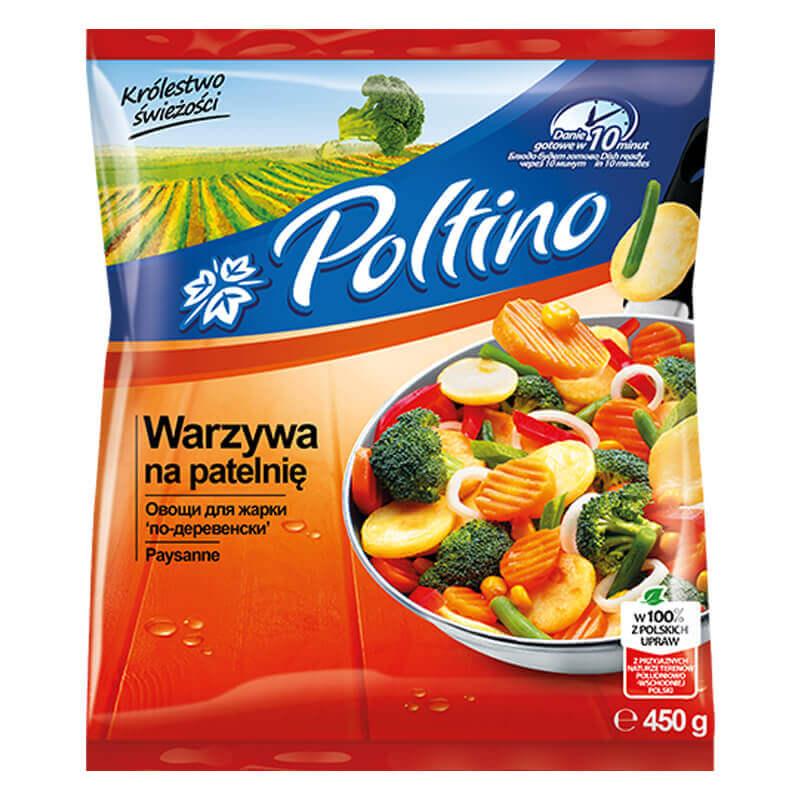 овощи для жарки по-деревенски 450г тм poltino