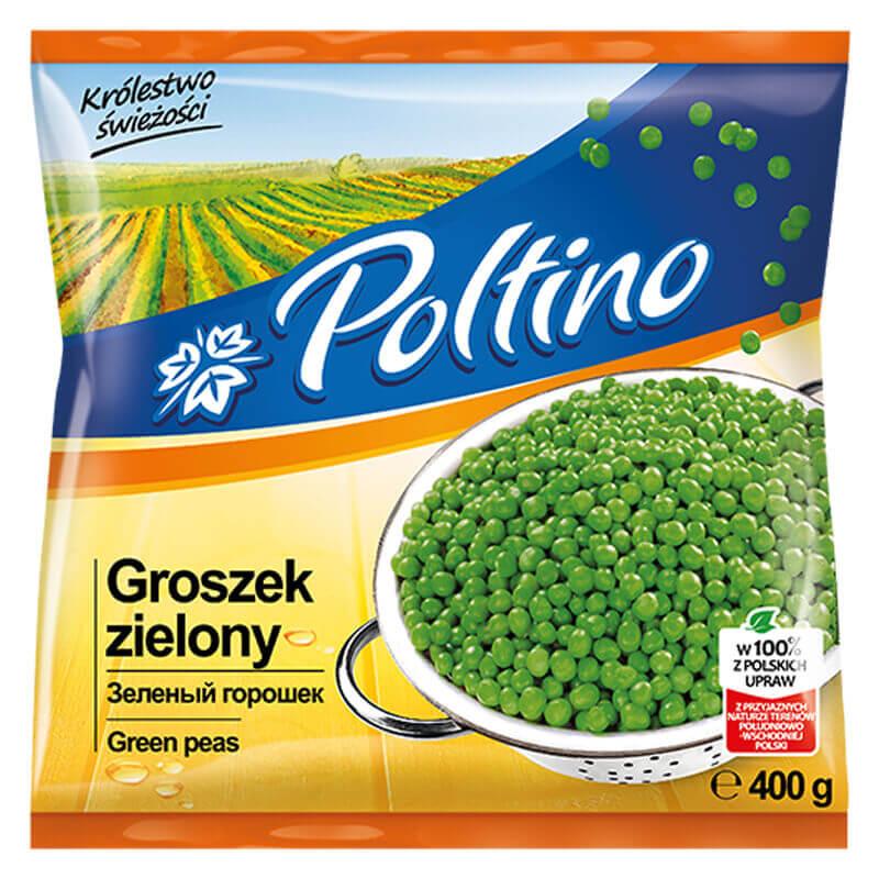 зеленый горошек 400г тм poltino