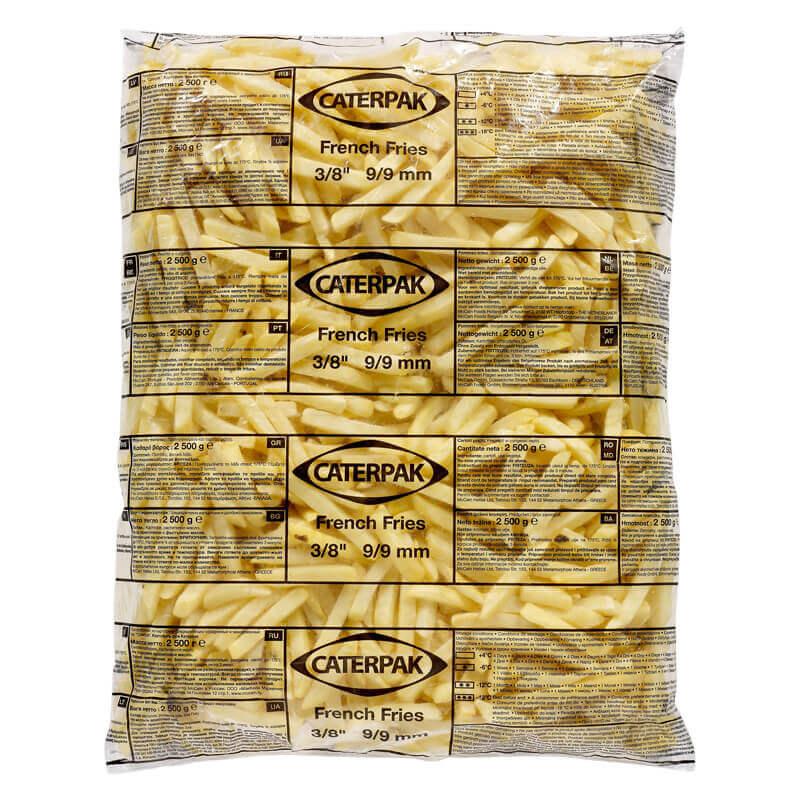 картофель фри caterpak 9×9 mccain