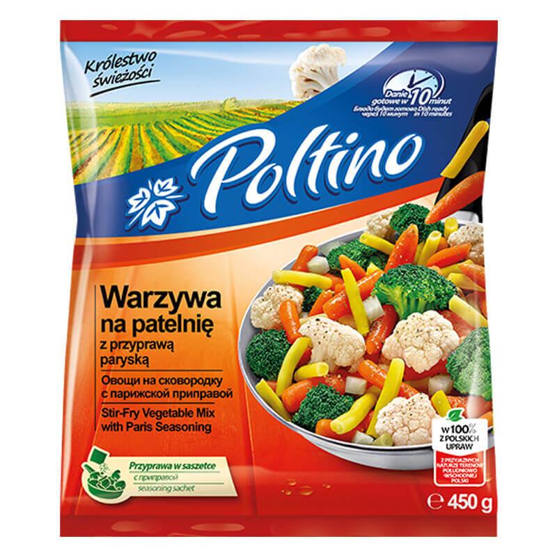 овощи на сковородку с парижской приправой 450г тм poltino