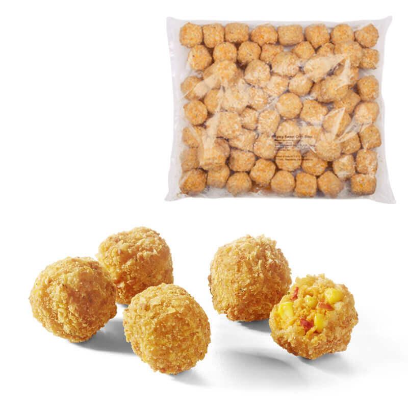 806536 шарики из сладкой кукурузы со специями aviko