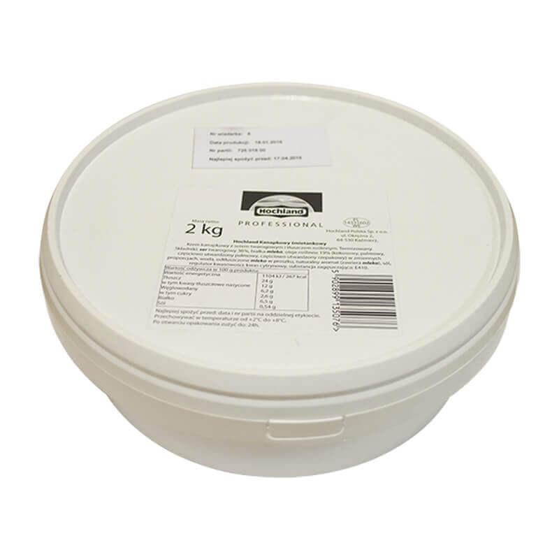 свежий крем-сыр сливочный hochland professional 2кг