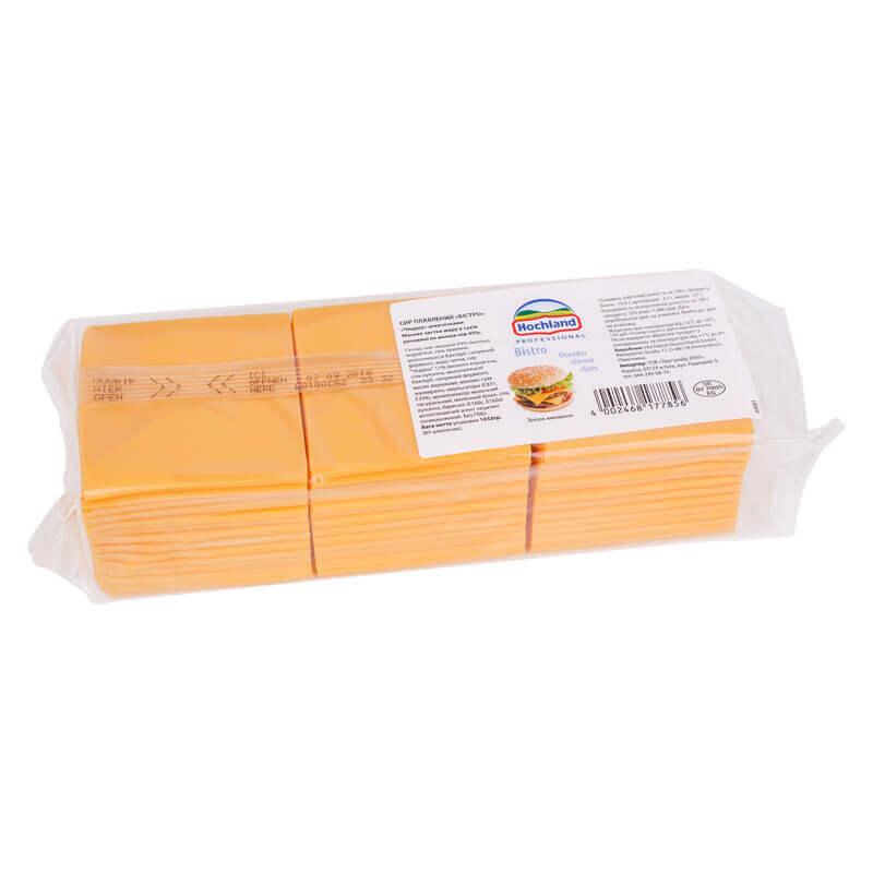 сыр чеддер hochland ломтики 1,033кг