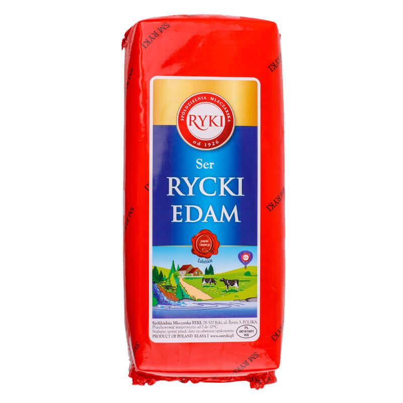 сыр эдам рицкий 45% тм ryki ~2,5кг