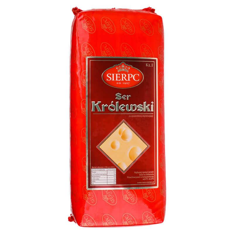 сыр королевский 45% тм sierpc ~4кг