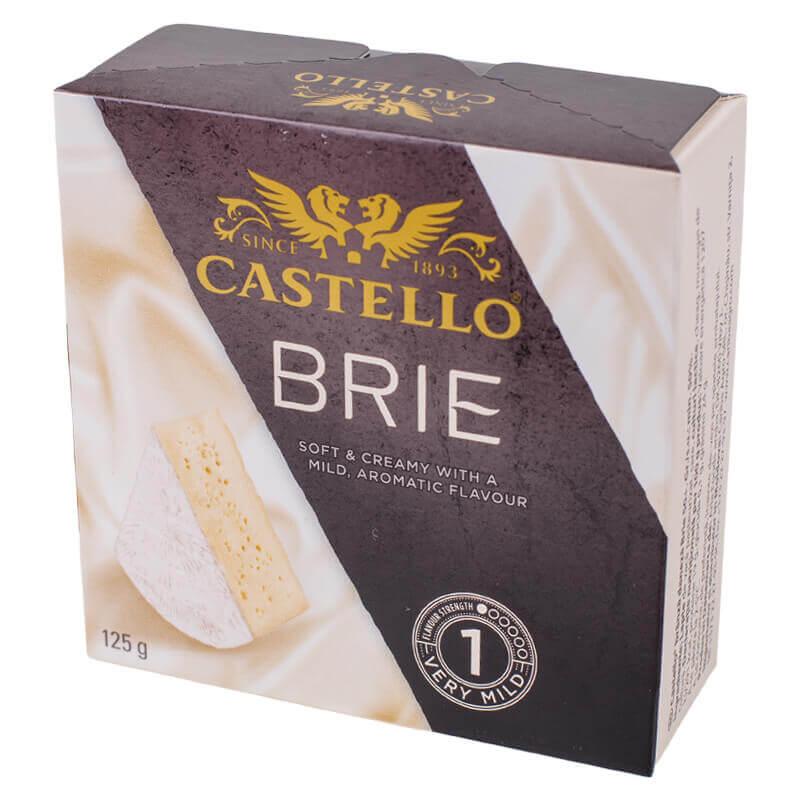 сыр мягкий бри тм castello 50% 125г