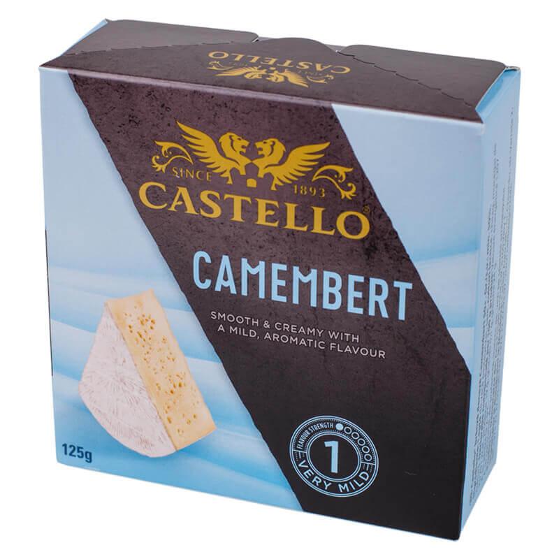 сыр мягкий камамбер тм castello 50% 125г