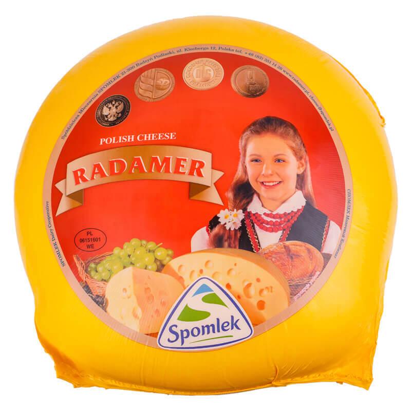 сыр радамер 45% тм spomlek ~8,6кг