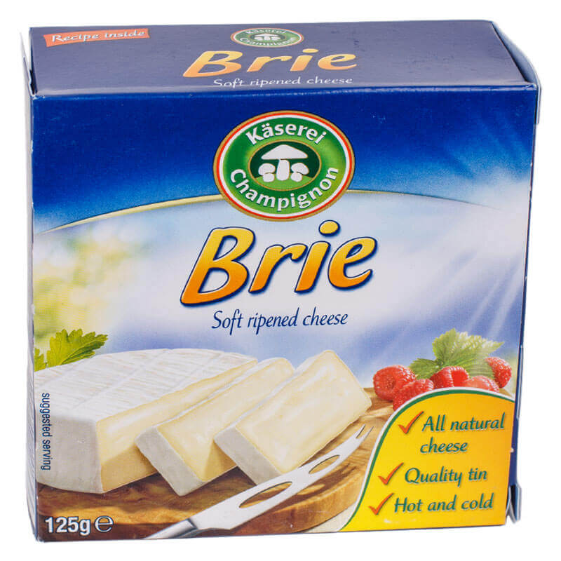 сыр бри 50% тм käserei champignon 125г