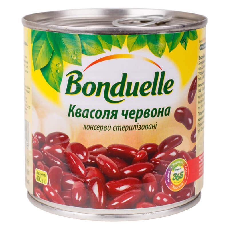 фасоль красная тм bonduelle 400г