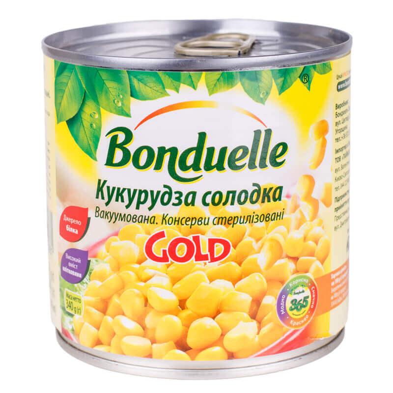 кукуруза сладкая gold тм bonduelle 340г