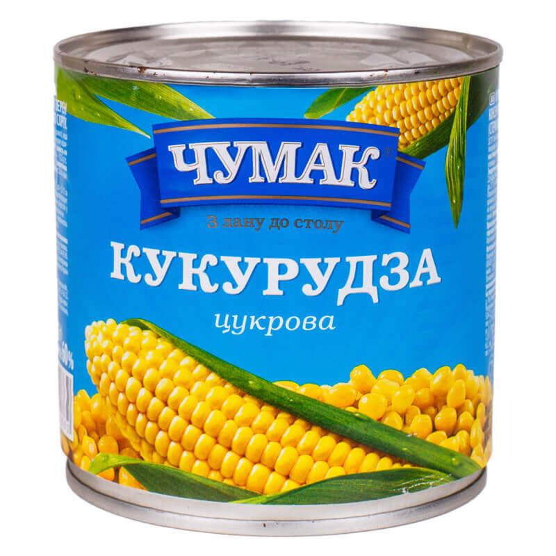 кукуруза сахарная тм чумак 420г