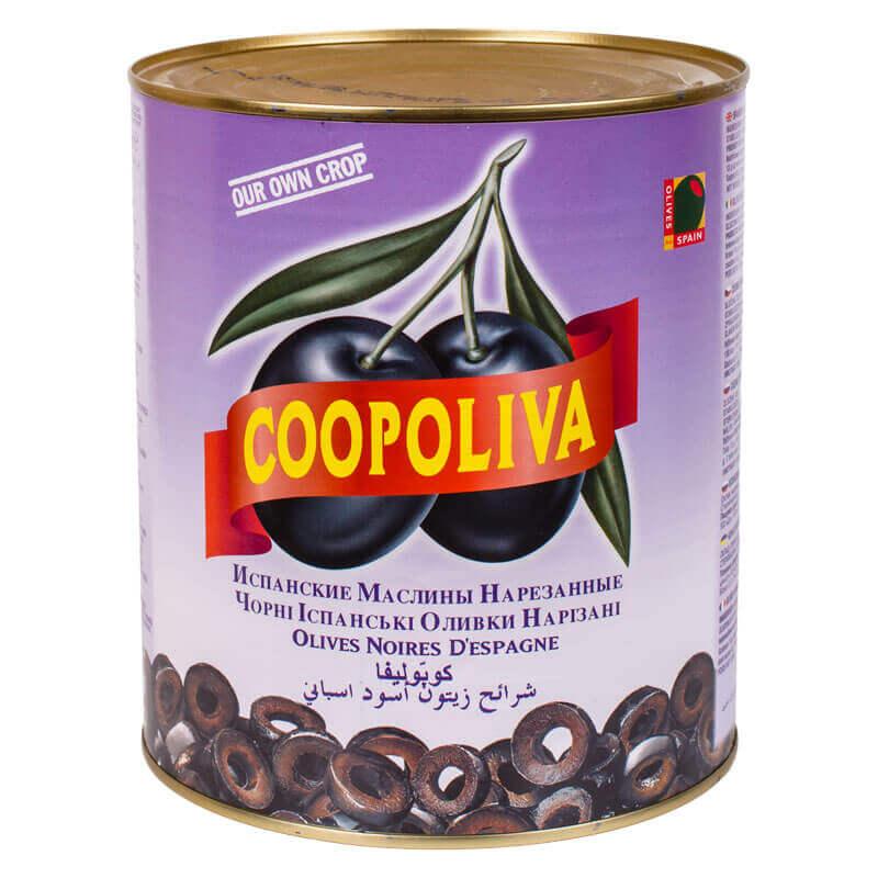 маслины испанские нарезанные coopoliva 3кг