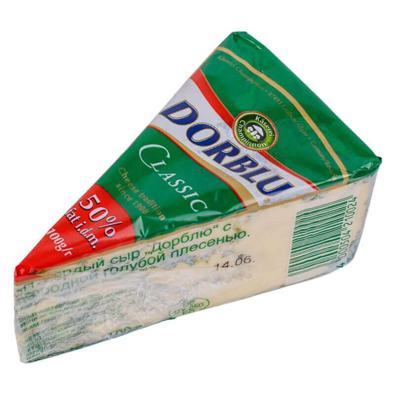 сыр дорблю 50% тм käserei champignon 100г