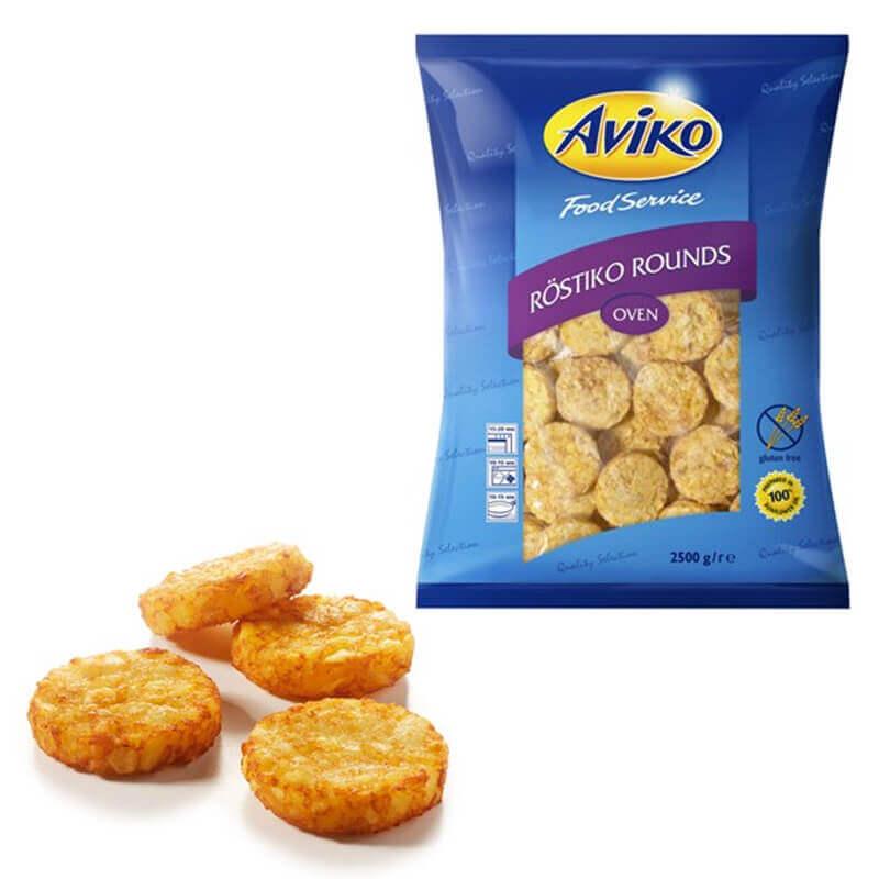 кружочки из тертого картофеля для духовой печи avik