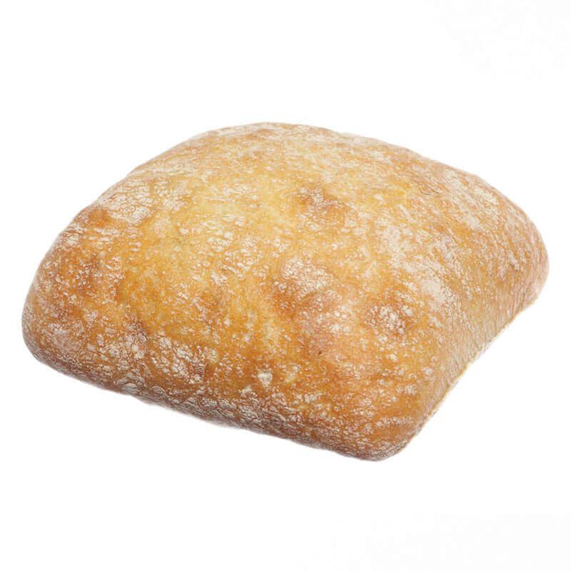 маленький итальянский хлебушек ciabatta тм mantinga 90г