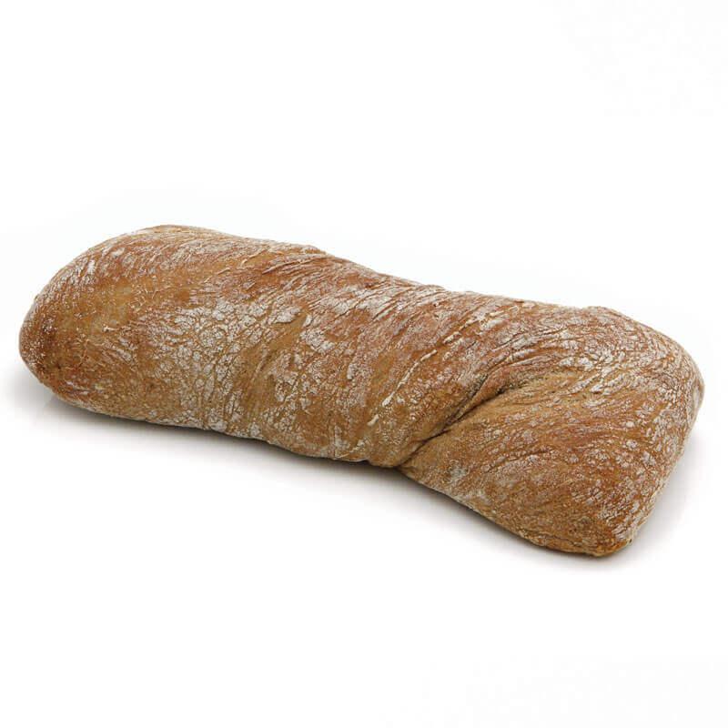 темный итальянский хлеб ciabatta тм mantinga 250г