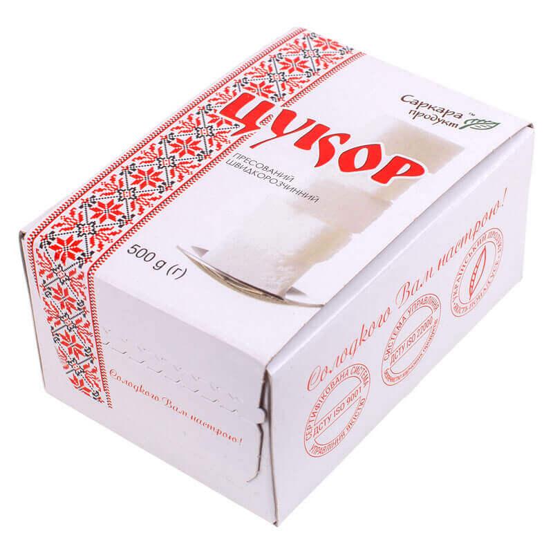 сахар белый прессованный быстрорастворимый тм саркара продукт