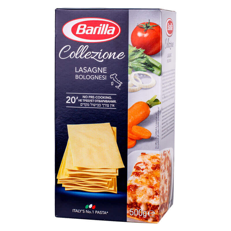 макароны лазанья barilla 500г