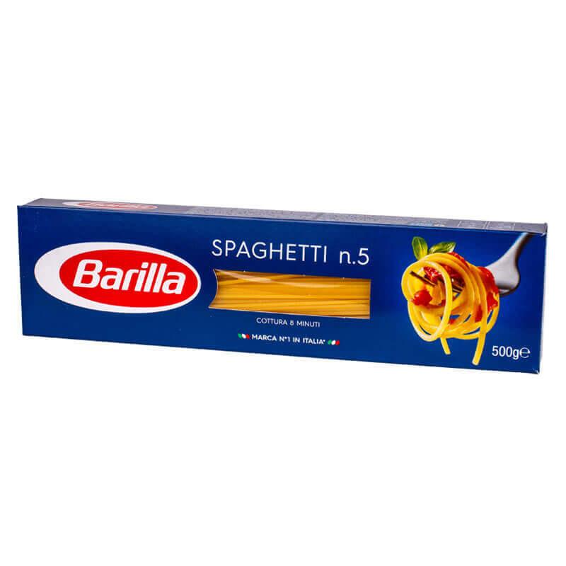 макароны спагетти 5 barilla 500г