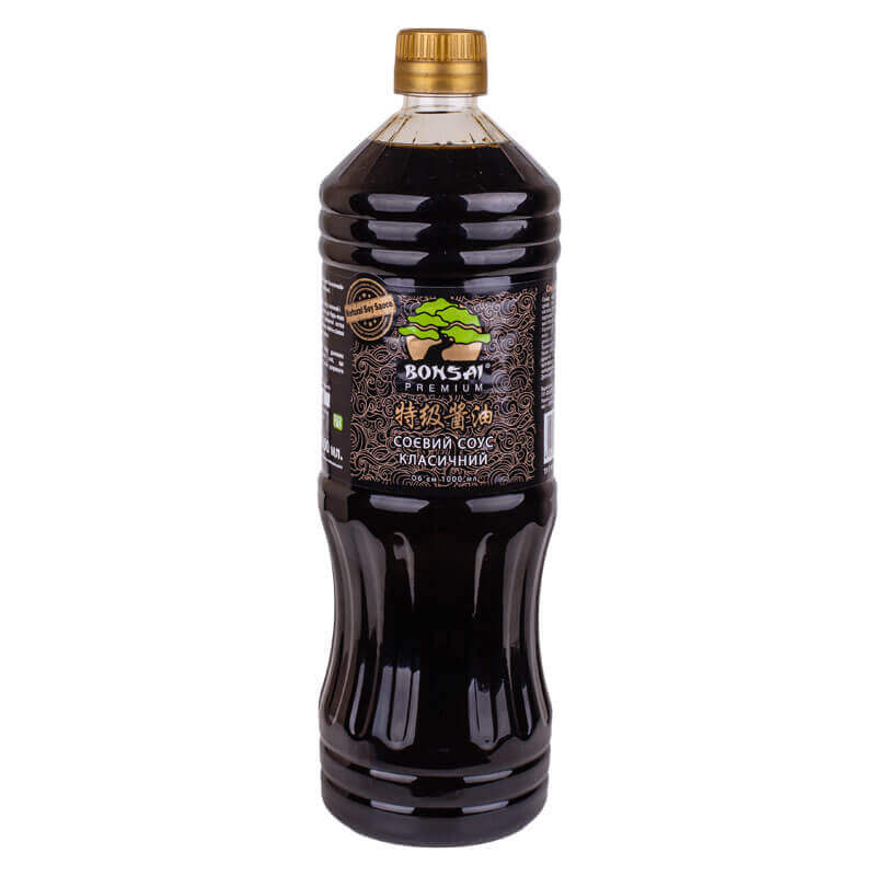 соус соевый premium классический тм bonsai 1л