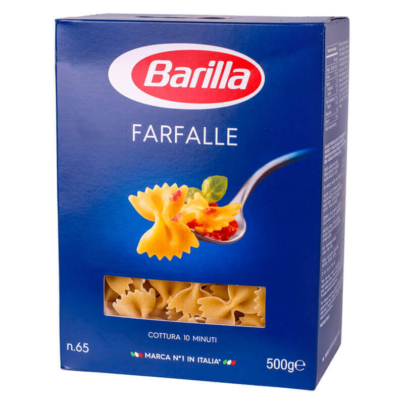 макароны фарфалле 65 barilla 500г