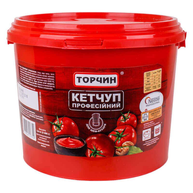 кетчуп профессиональный торчин 3400г