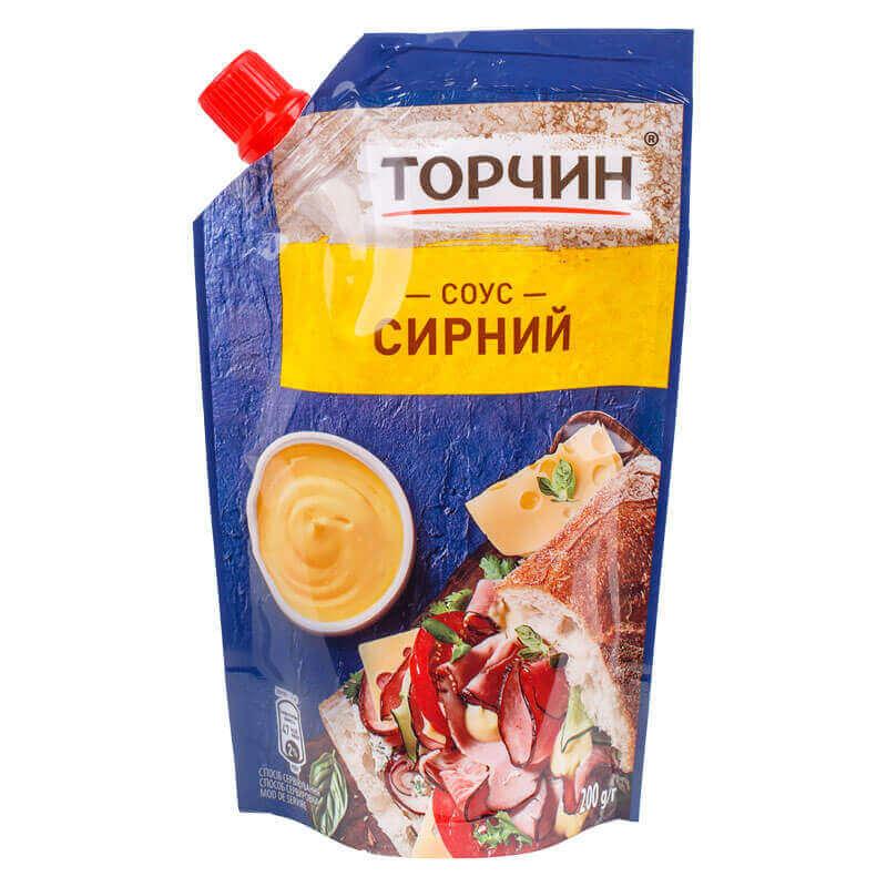 соус сырный торчин 200г