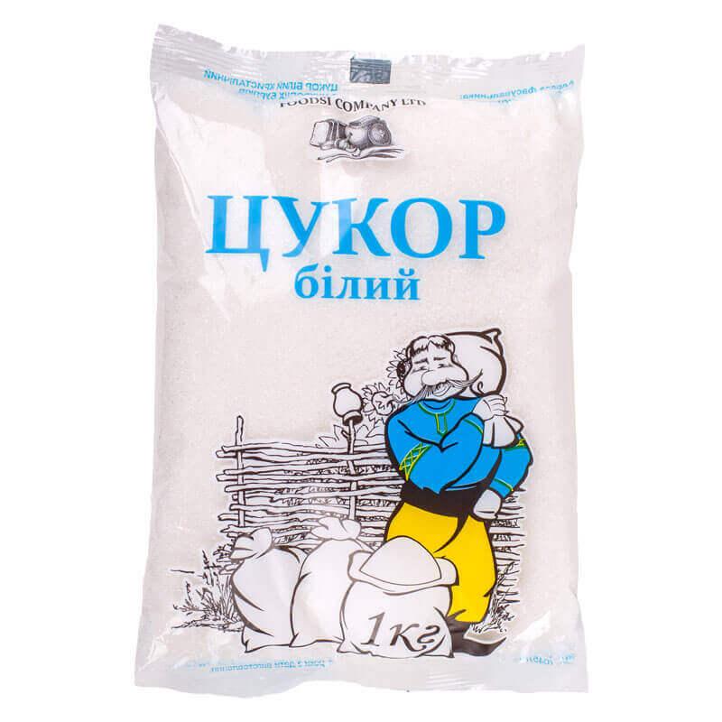 сахар белый кристаллический тм фудси 1кг