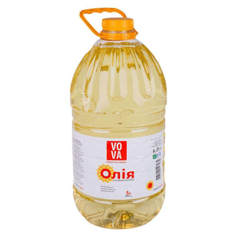масло подсолнечное рафинированное марки п vova