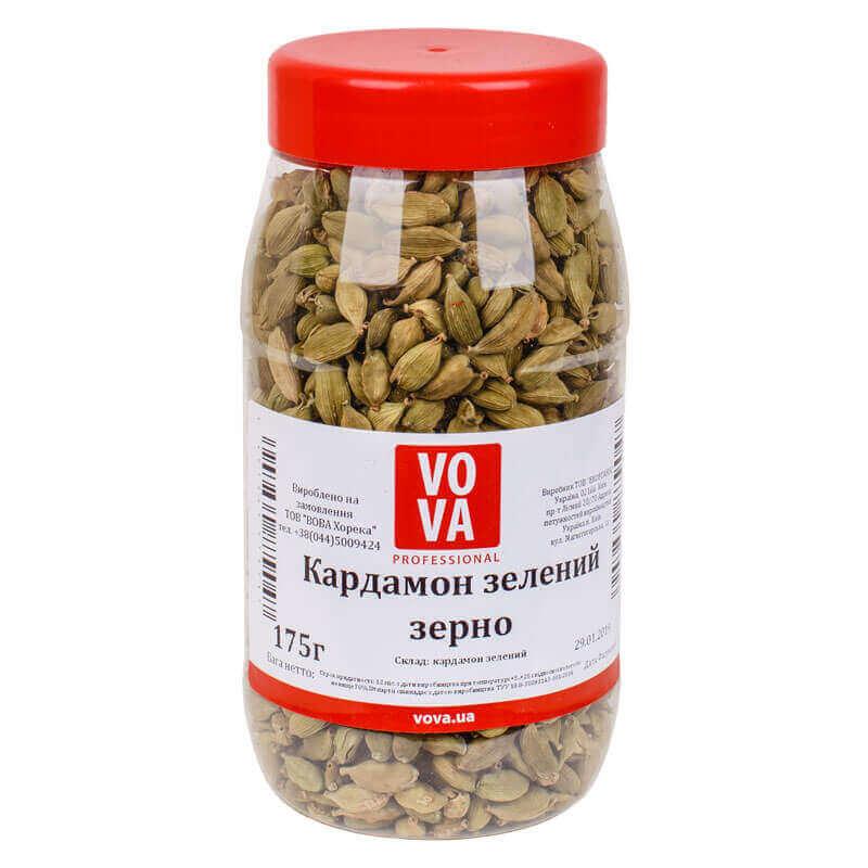 кардамон зеленый зерно vova 175г