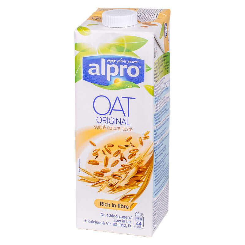 напиток овсяный alpro 1л