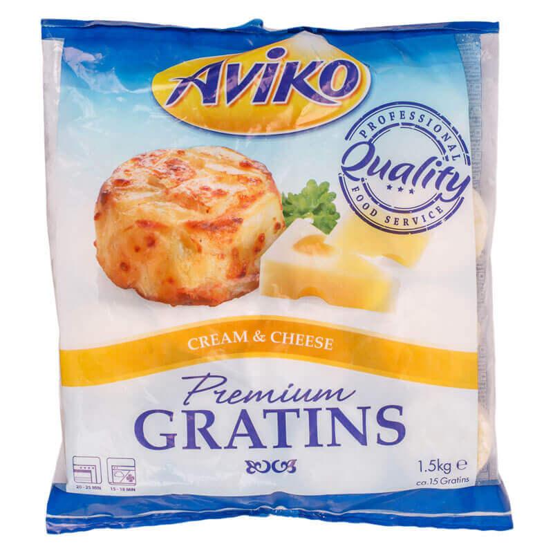 картофельная запеканка со сливками и сыром aviko