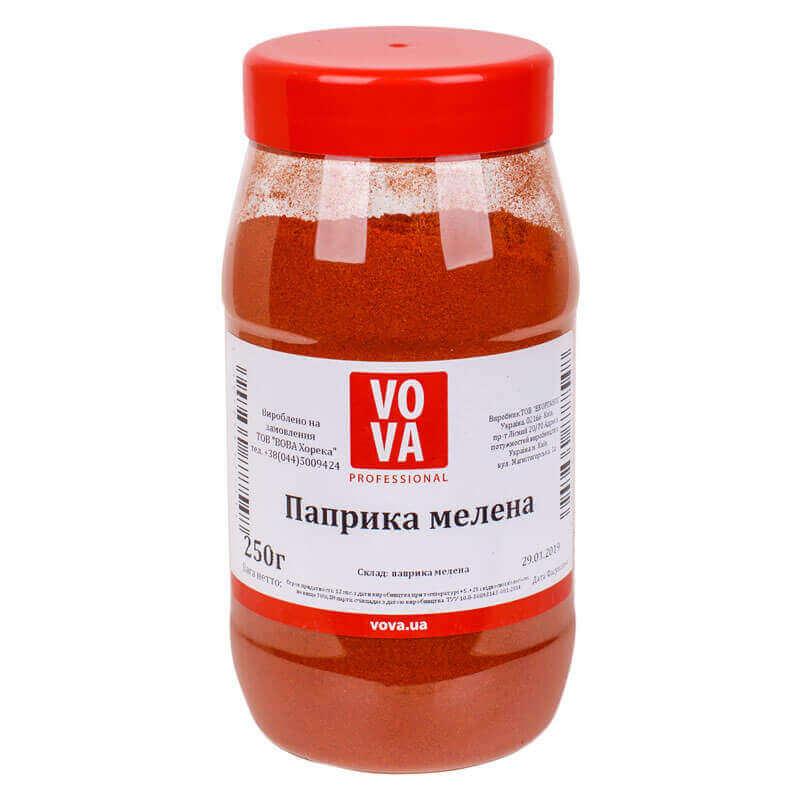 перец сладкий красный молотый паприка vova 250г