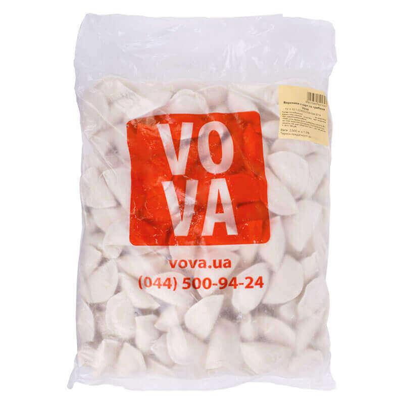 вареники с картофелем и грибами vova